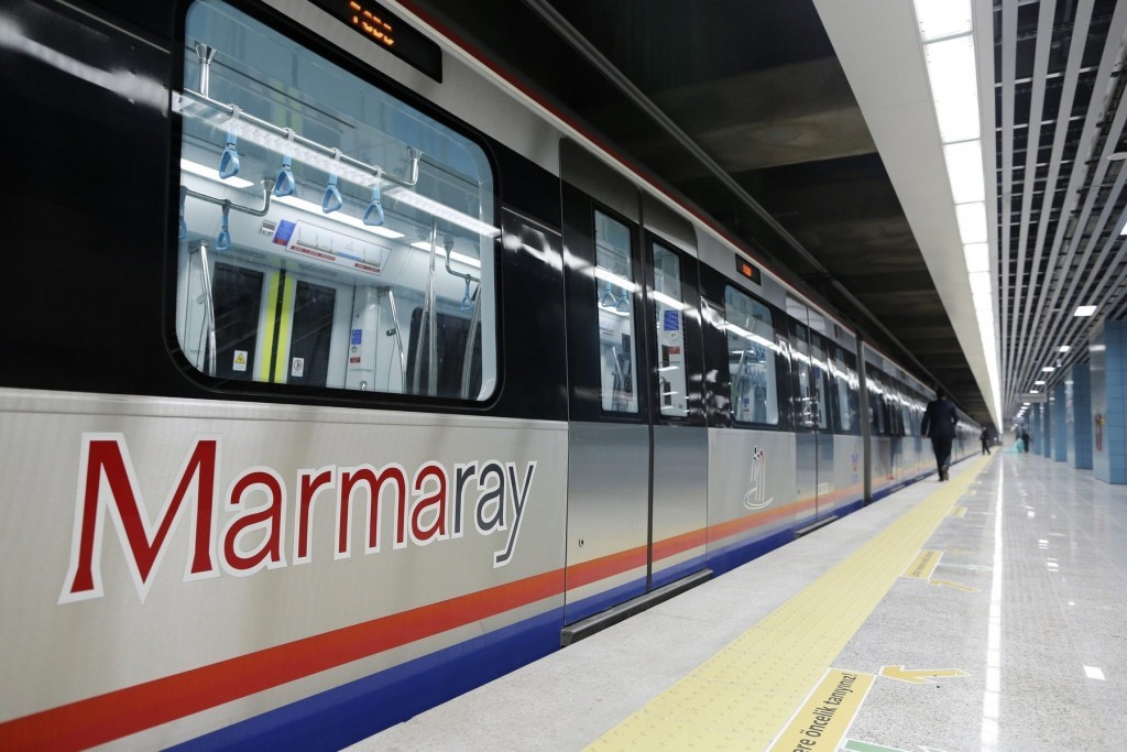 Major Marmaray Metro Stations Yenikapı & Sirkeci in European Side