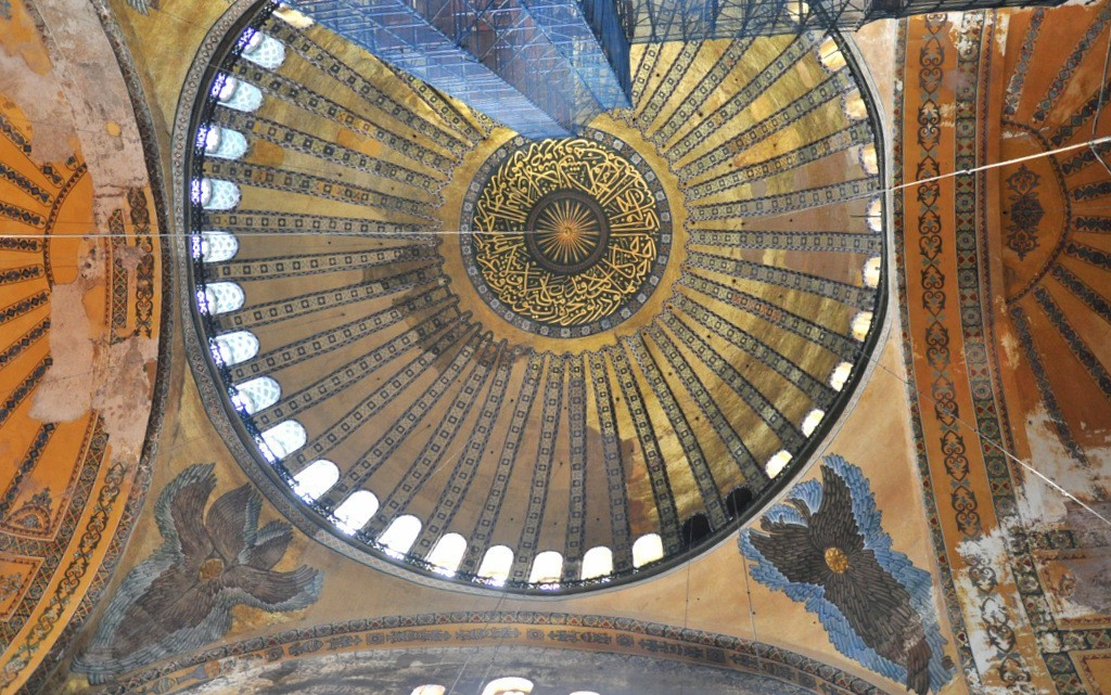 Collapse Of The Hagia Sophia Dome 558
