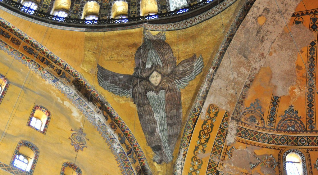 seraphim-angel-in-hagia-sophia