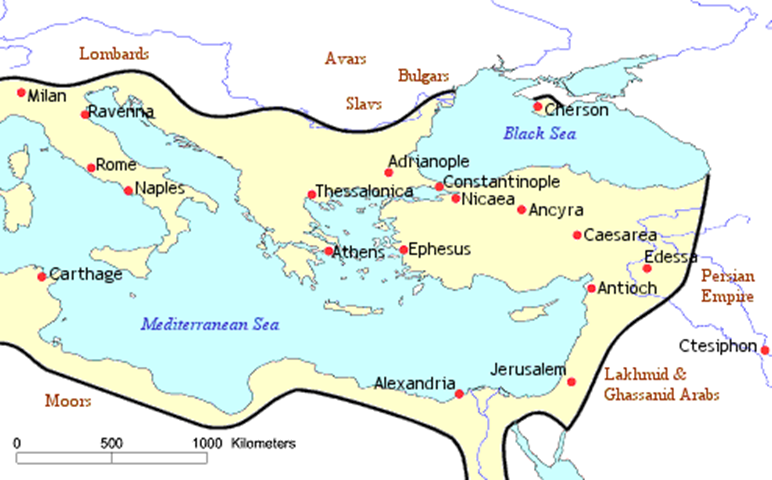 Rise Of The Byzantine Empire Under Emperor Justinian ...
