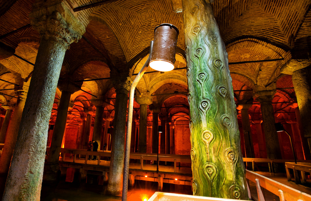 Istanbul Basilica Cistern Opening Hours