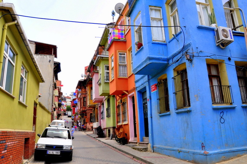 Istanbul oldish streets off the beaten track