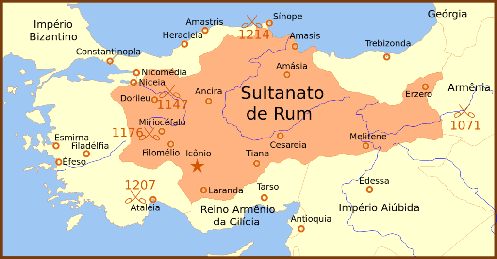 Rise Of The Turkish Ottoman Empire - Seljuk Sultanate of Room