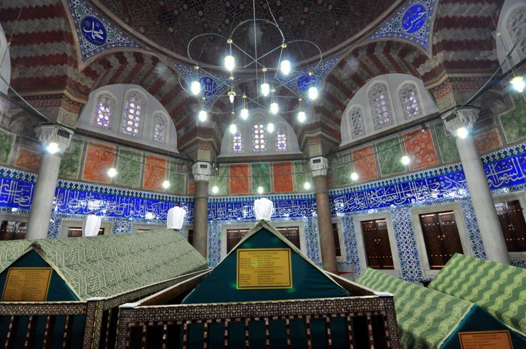 Sultan Suleiman and Hurrem Sultan Tomb