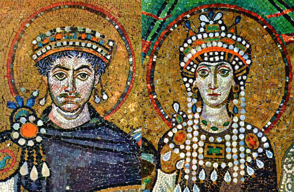 Emperor Justinian Facts and his life story with wife Empress Theodora