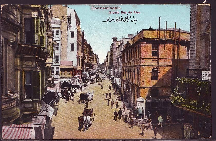 Mesrutiyet Street History