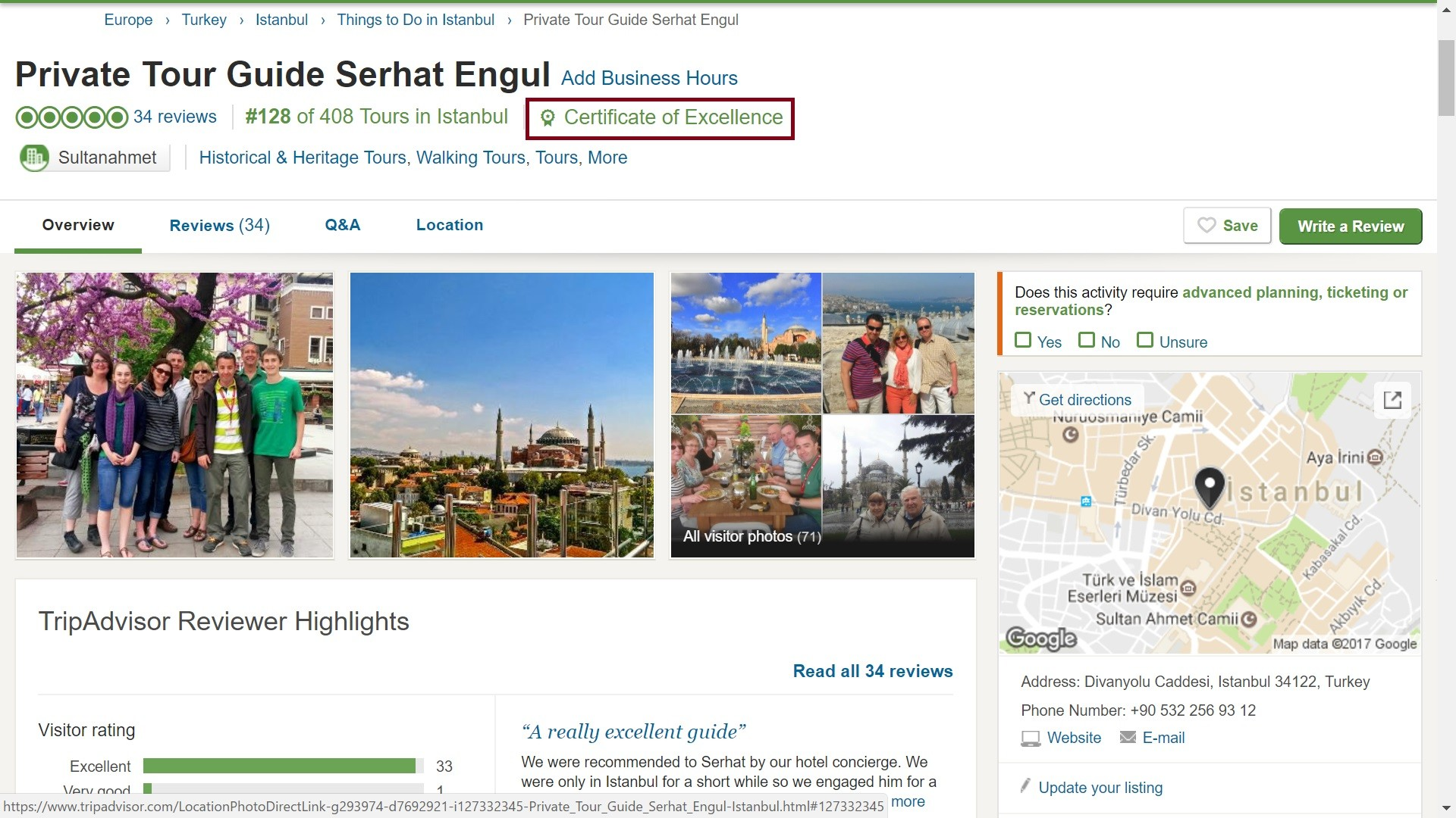 Recommended Istanbul Tour Guide TripAdvisor