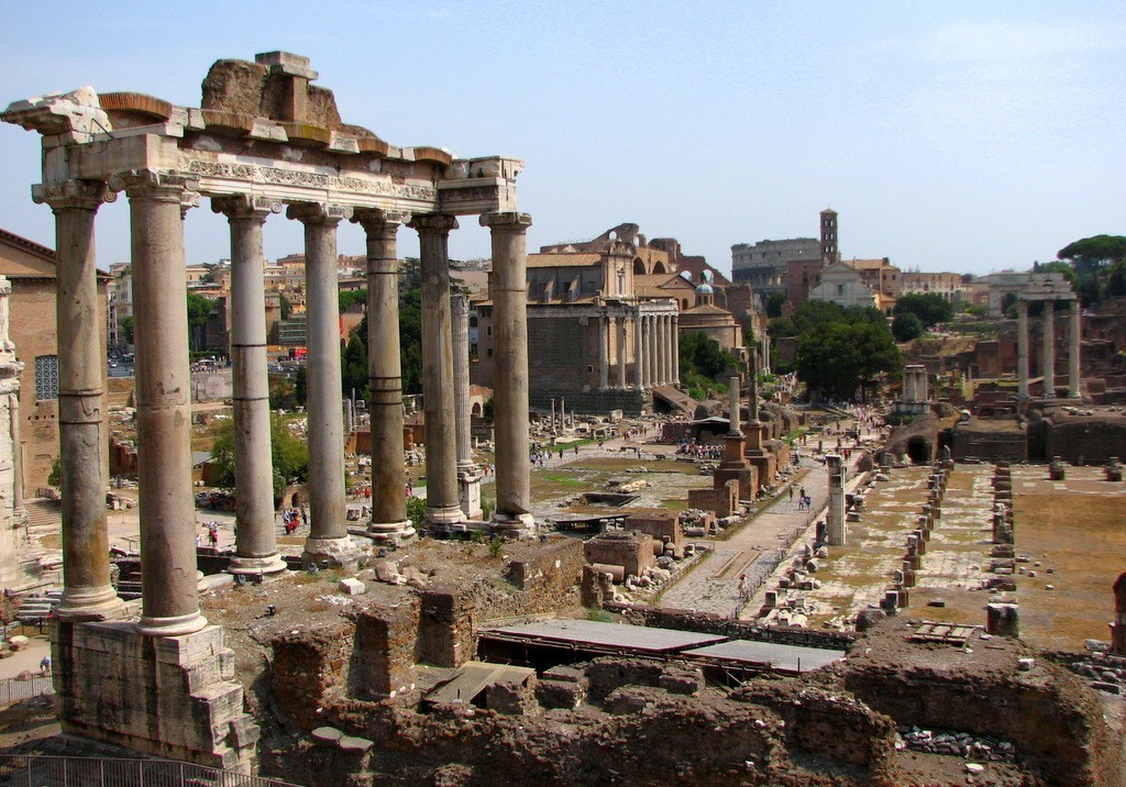 History Of Istanbul And Rome Ancient Forum Roma