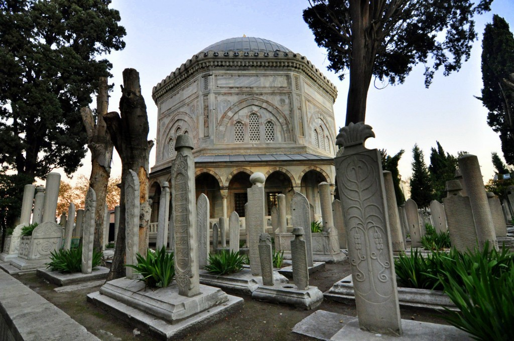 Tomb of Sultan Suleiman the magnificent.