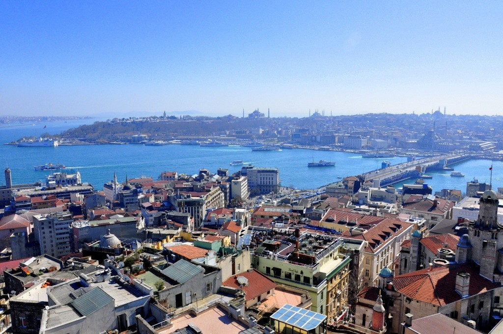 Galata Tower Entrance Fee View of Golden Horn