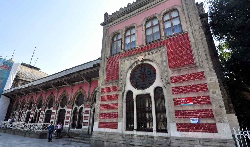 Sirkeci Train Station Nowadays Marmaray Istanbul Old City Terminal