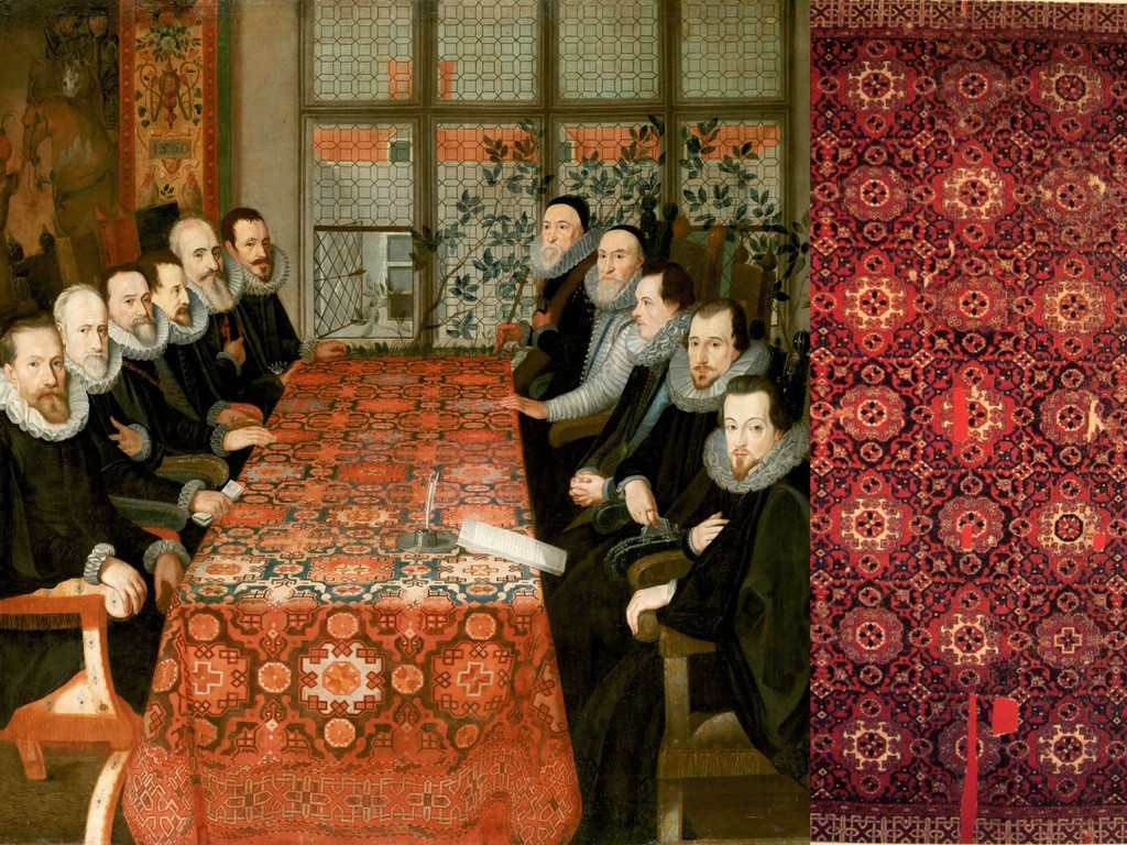 Turkish Carpets in European Renaissance Painting Holbein Carpets