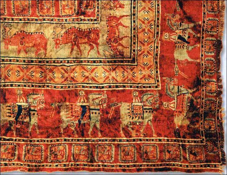 Oldest Surviving Rug In The World Pazyryk Carpet