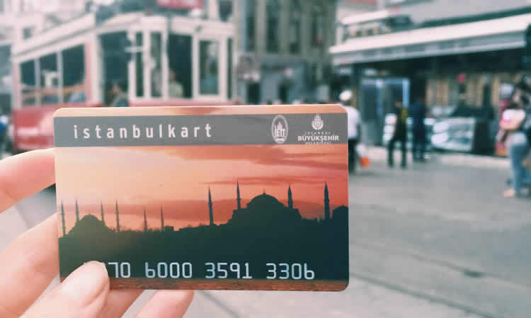 Istanbulkart or Istanbul Card is needed for getting around in Istanbul by tram & metro