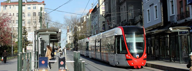 How to get Istanbul Old City by Tram from Galataport Cruise Terminal