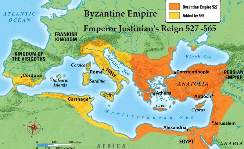 byzantine empire accomplishments