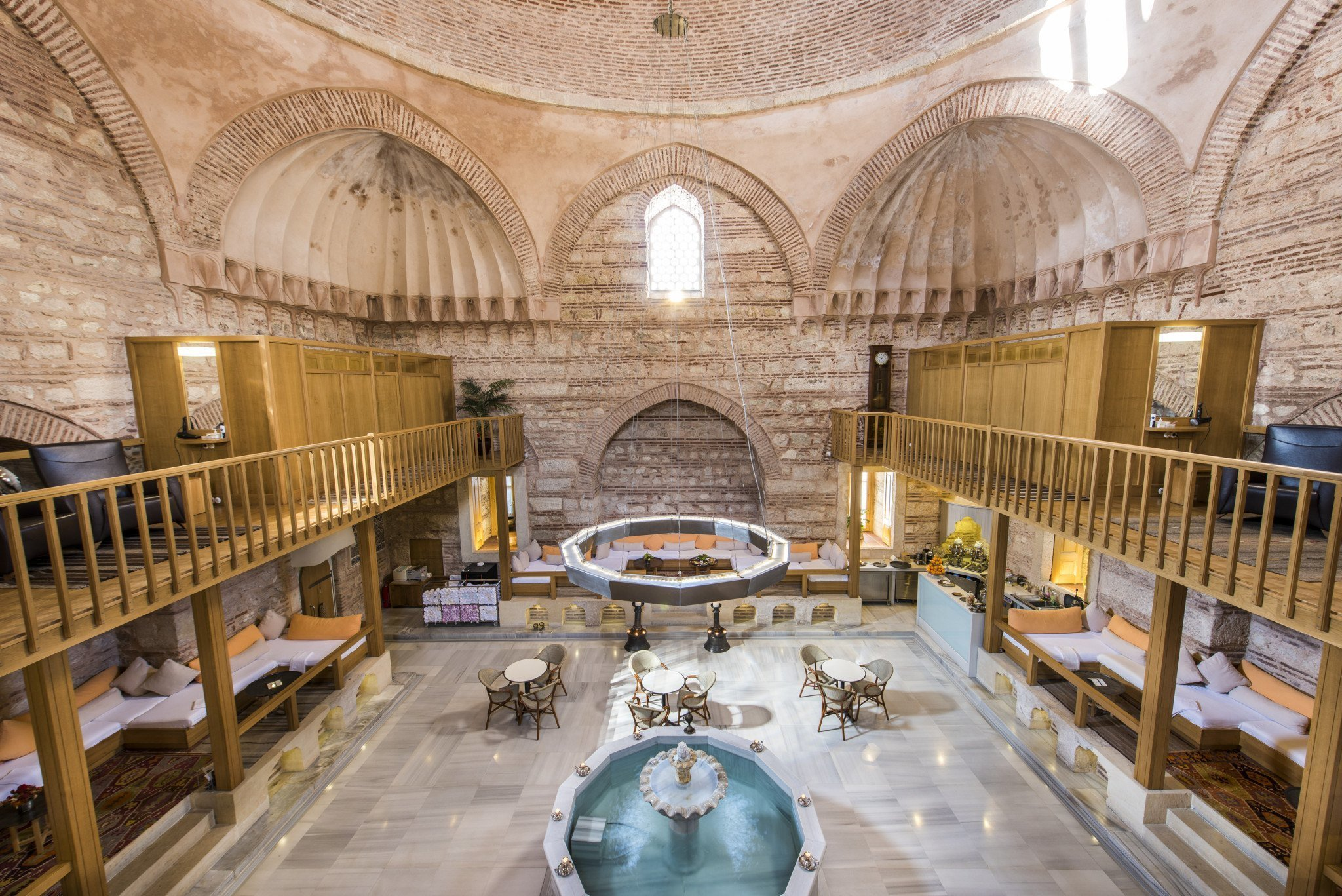 Turkish bath (hamam). What is it and what are its distinctive features