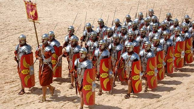 facts about the roman army legion soldiers uniform