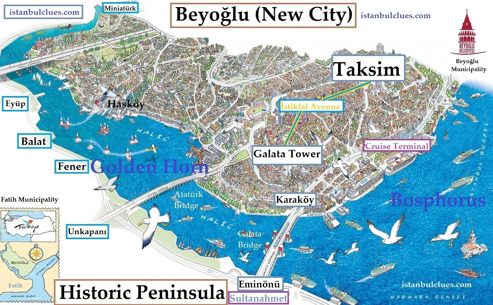 Where To Stay In Istanbul Best Area To Stay For Tourists