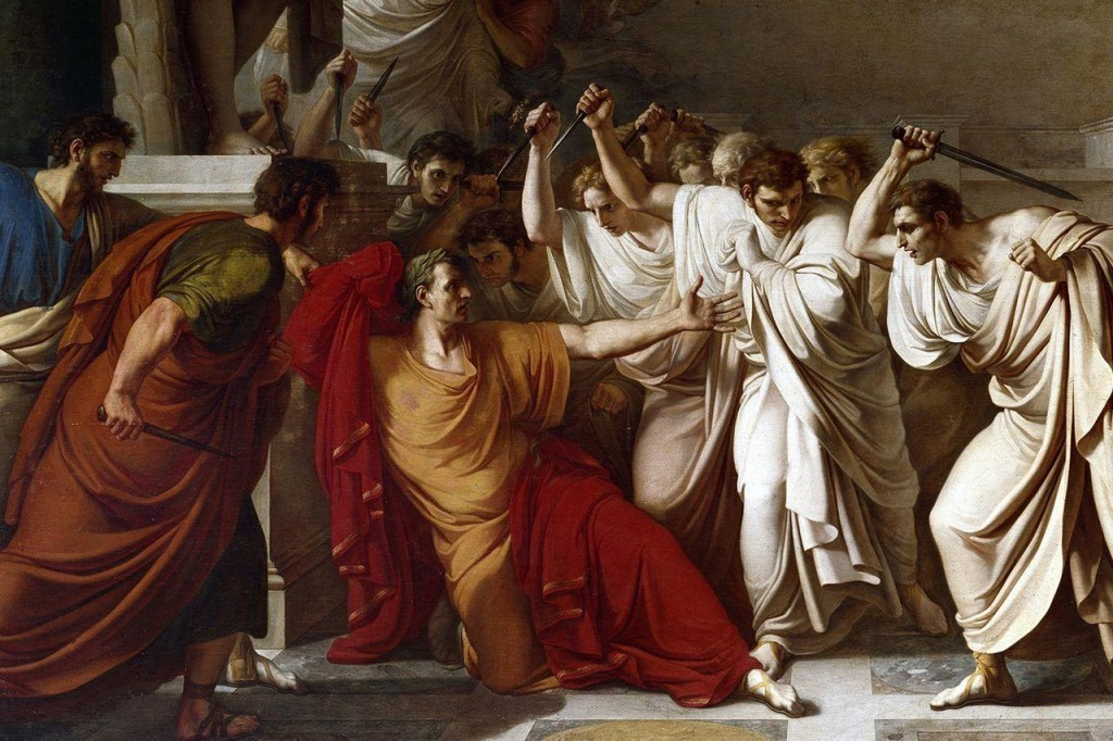 Julius Caesar Was Killed by Gaius Cassius Longinus, Junius Brutus the Younger