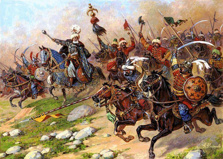 Ottoman Janissary Soldiers