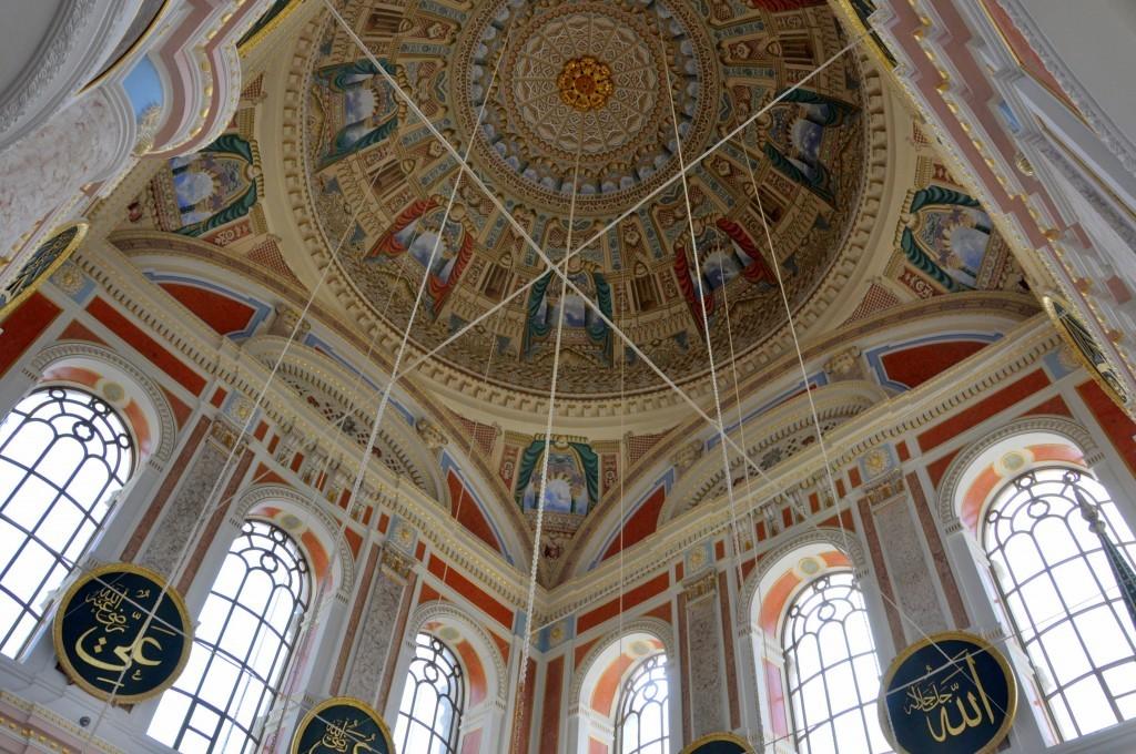 Istanbul Ortakoy Mosque Dome photos