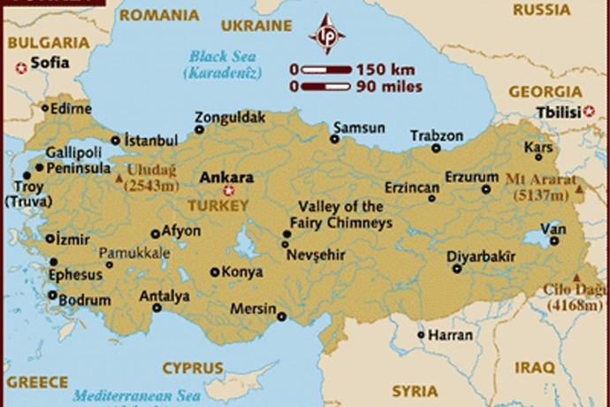 Anatolia Map Asia Minor Turkey Map History Facts Istanbul Clues