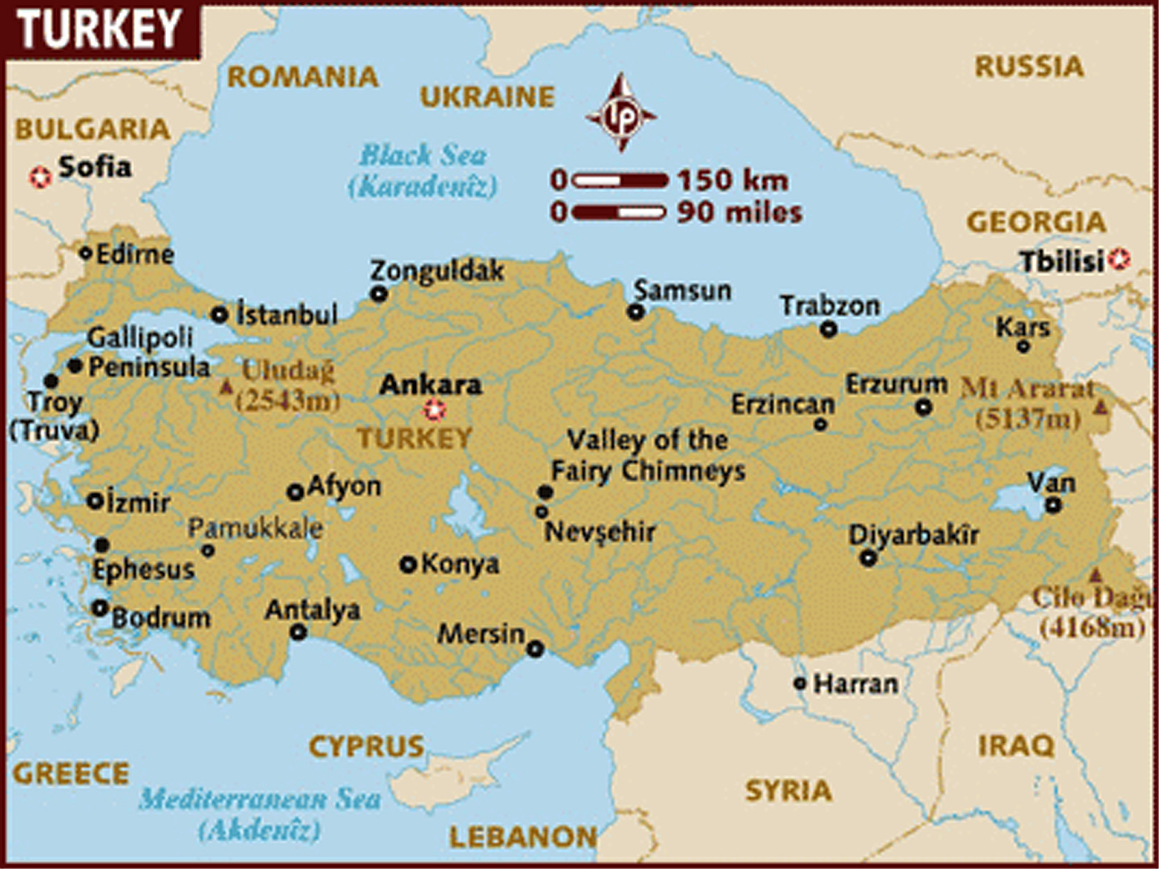 Anatolia Map Asia Minor With History Facts Istanbul Clues