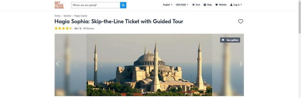 Hagia Sophia Skip The Line Tickets