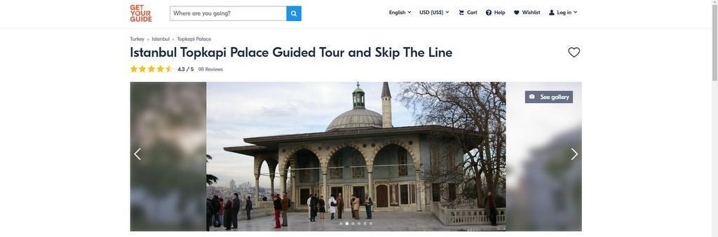 Topkapi Palace Fast Track Online Tickets