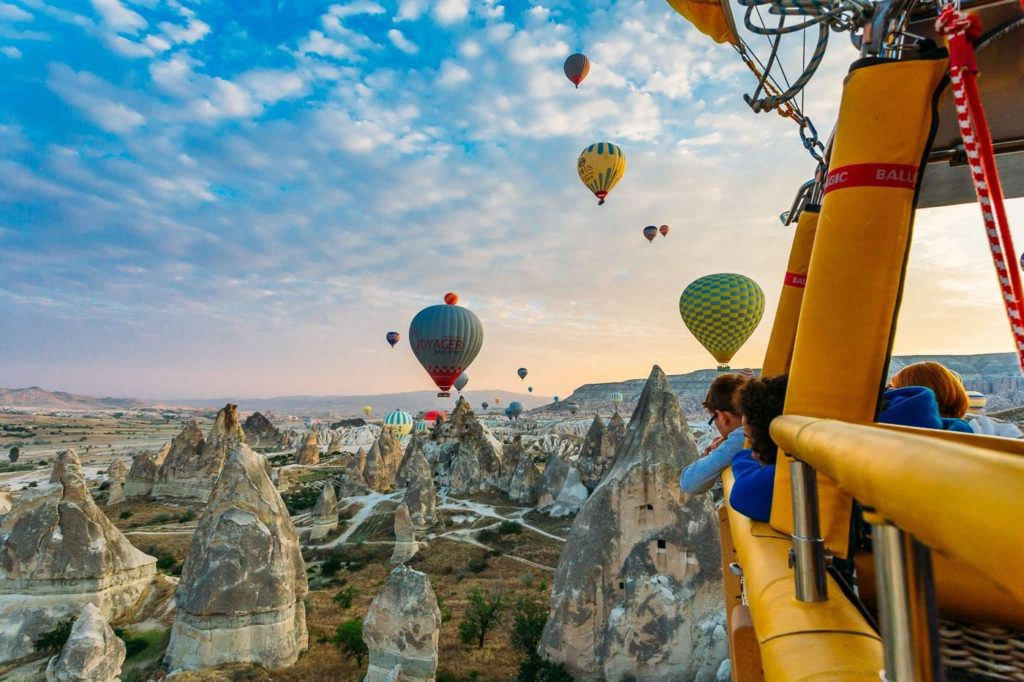 Cappadocia Hot Air Balloon Rides Cappadocia Guided Tours