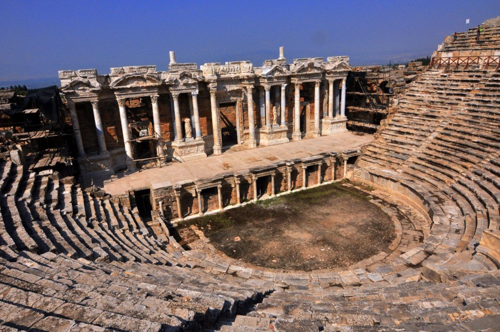 Things to do in Turkey Pamukkale Hierapolis Theatre