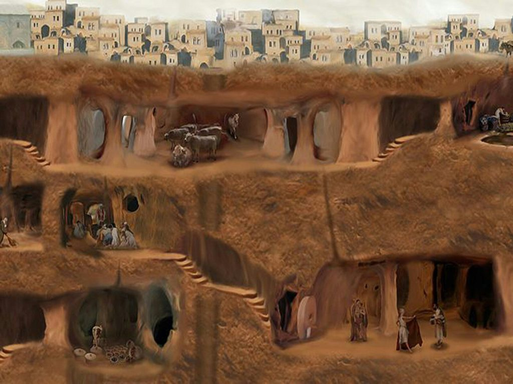 Underground Cities In Cappadocia Cappadocia Private Tour Guide