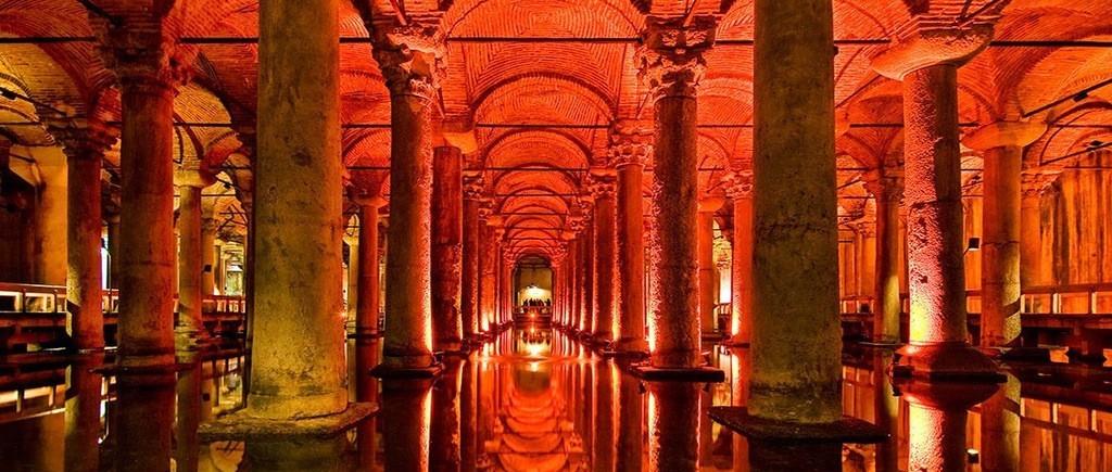 İstanbul Müzeleri Yerebatan Sarayı veya Sarnıcı Müzesi