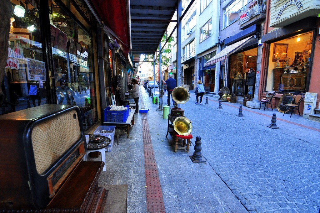 Where To Find Antique Shops Tellalzade Street Kadikoy Istanbul