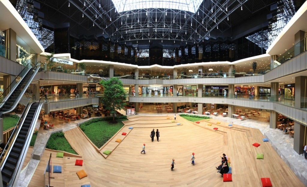 Shopping center-mall near to Istanbul Ataturk Airport