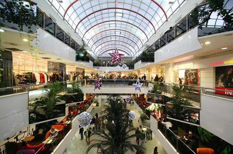 Shopping Malls in Istanbul city center