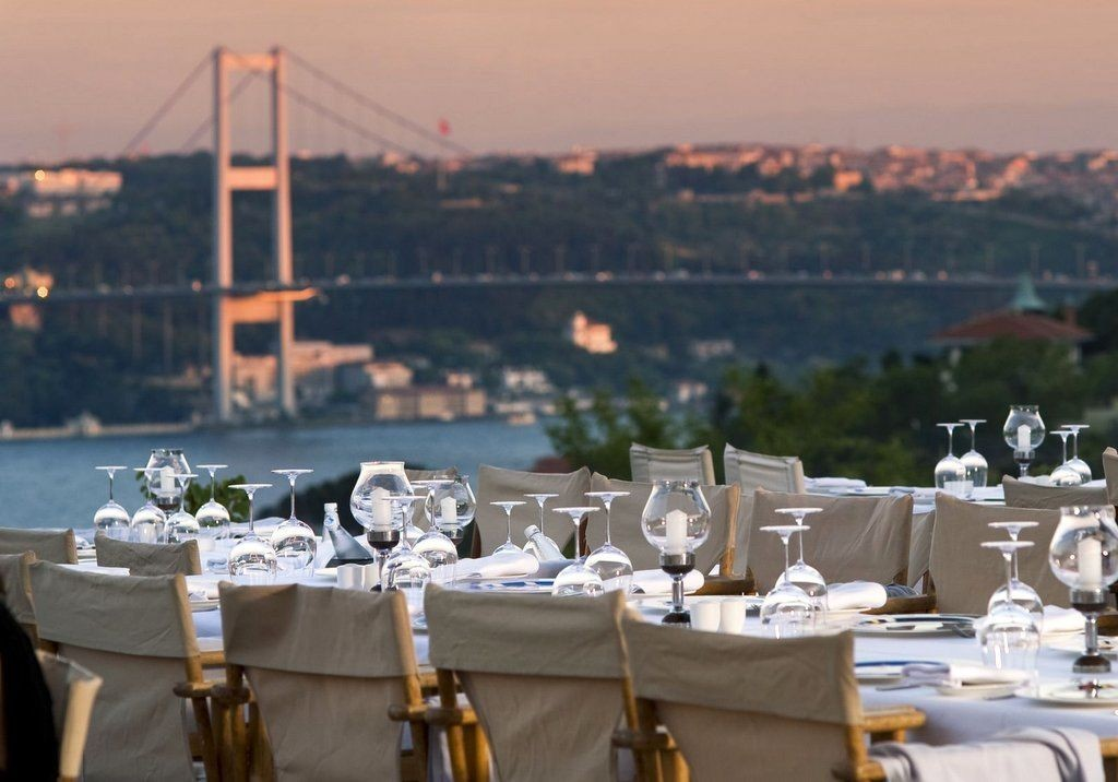 Best Restaurants in Istanbul with Bosphorus View