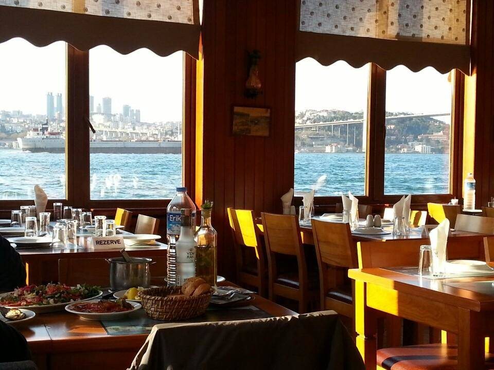 Fish restaurant recommendation for Istanbul