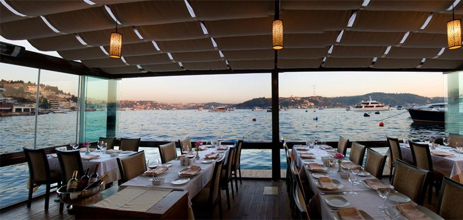 Best Fish restaurants near Bosphorus with good view