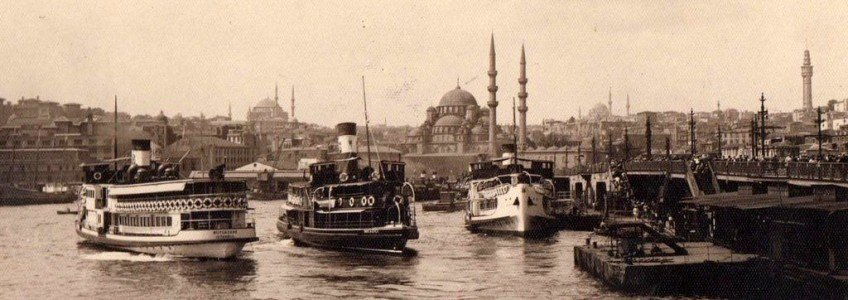 Istanbul Constantinople nostalgic pictures during Ottoman Empire