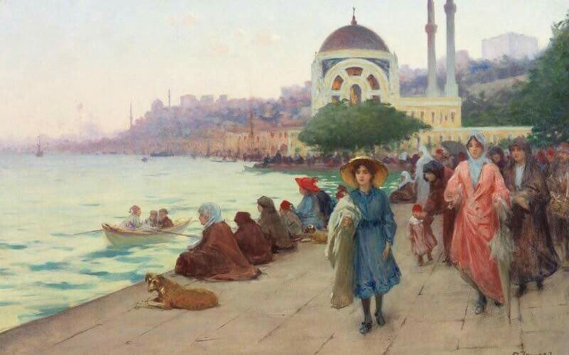 Ottoman Empire's Istanbul social life, customs and traditions