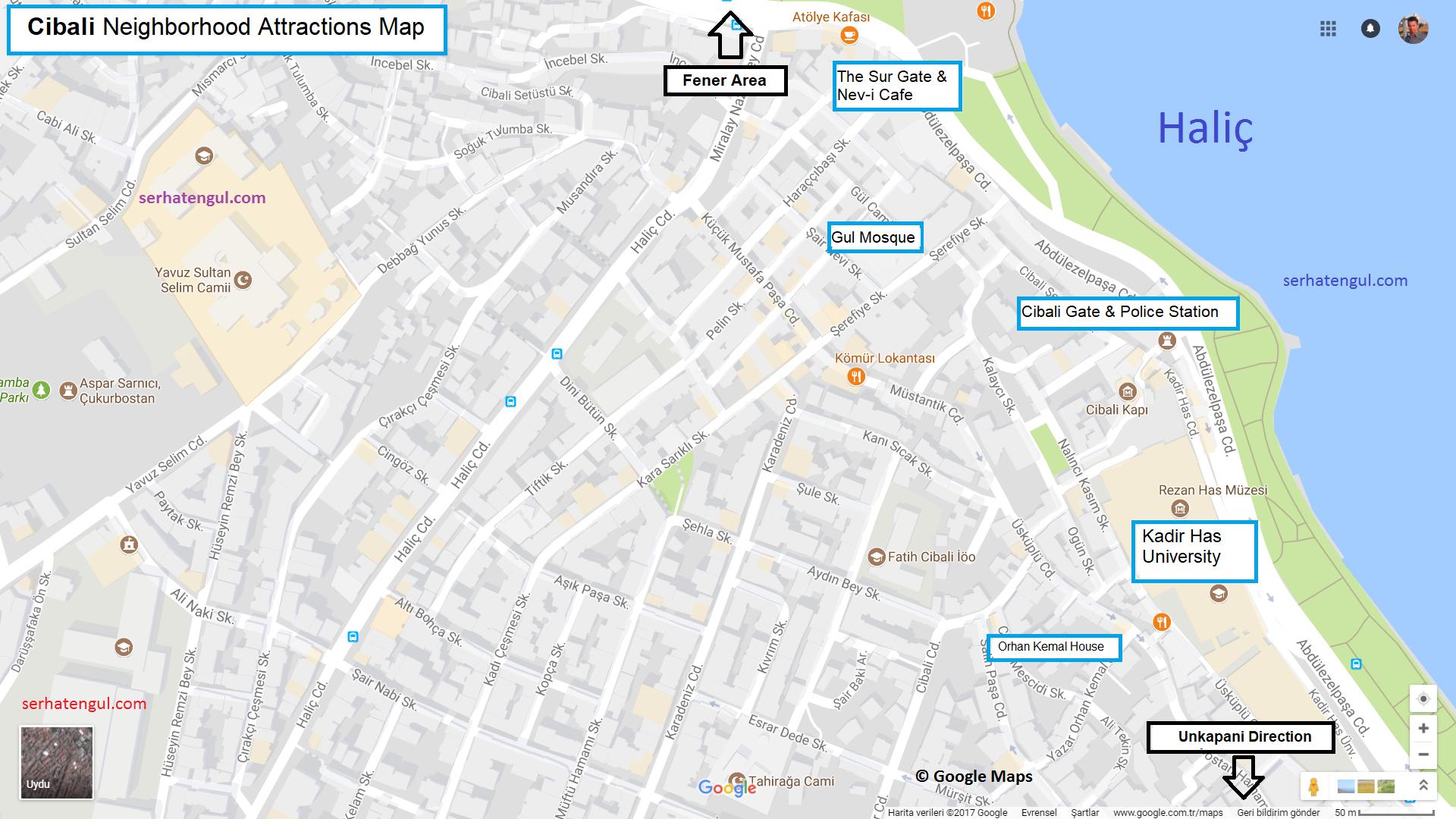 Istanbul Cibali Neighborhood things to do