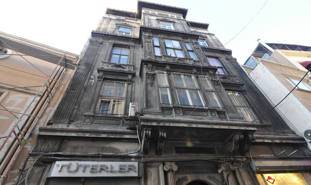 historical buildings of karakoy