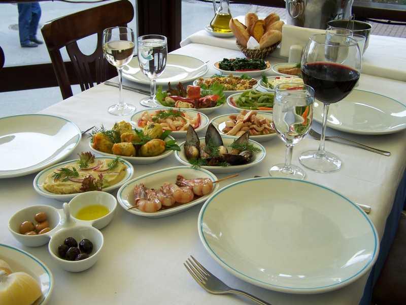 Best Turkish meze and raki