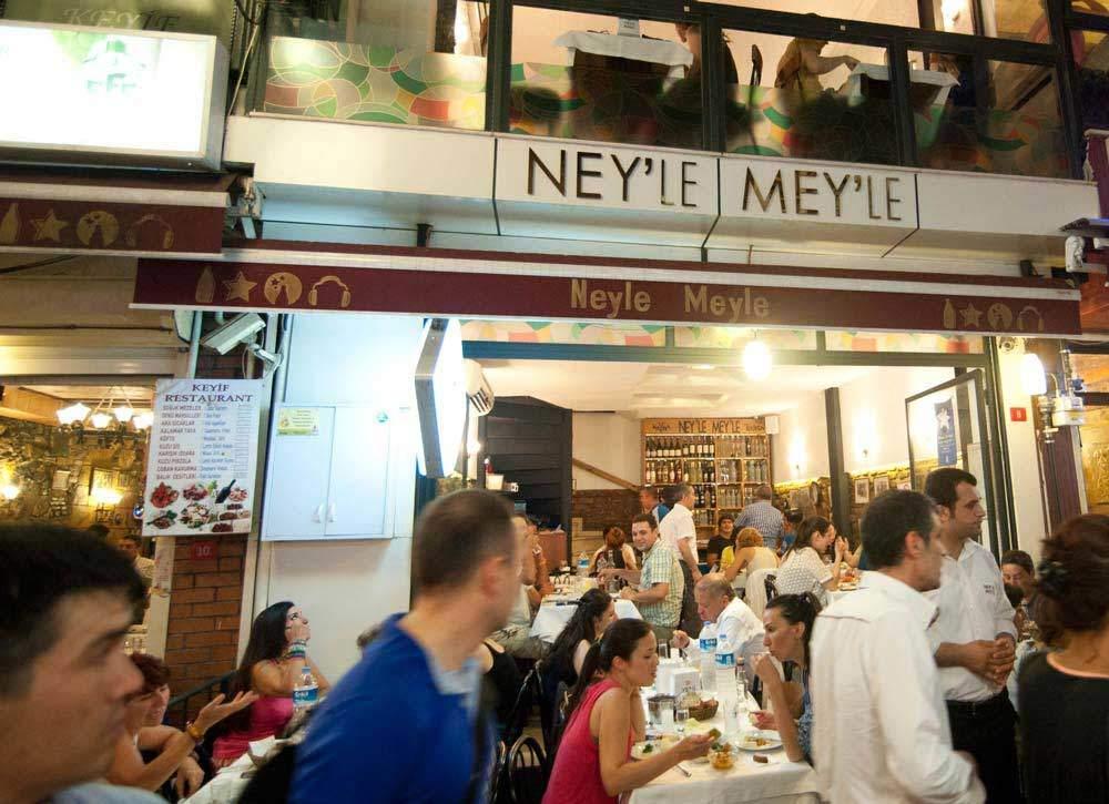 Best Turkish Meyhane restaurants Taksim
