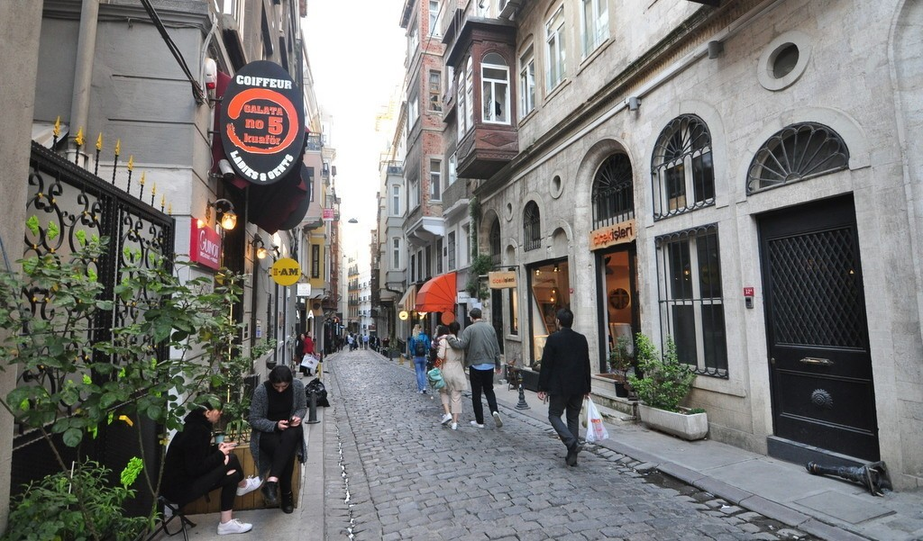 Galata Neighborhood Walking Tour Route