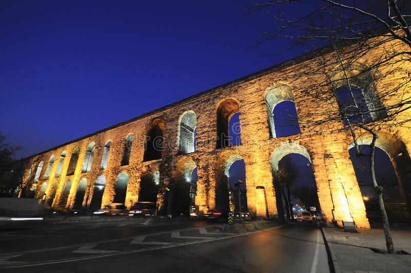 Roman Valens Aqueduct Istanbul