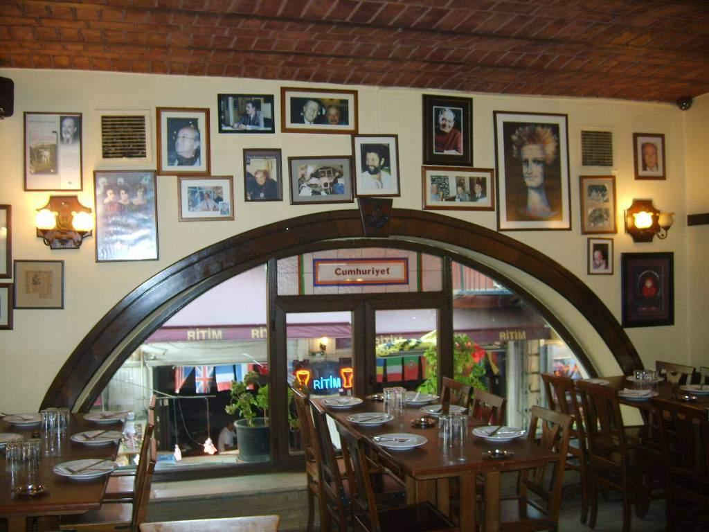 traditional Turkish Meyhane restaurant
