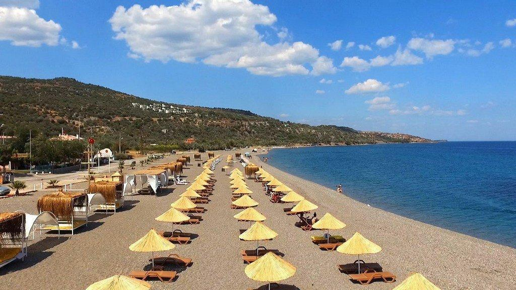 best beach in Canakkale